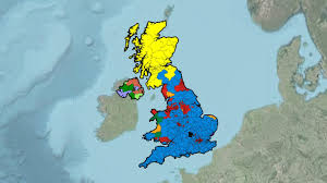 Uk Election Map by United Kingdom General Election Results 1945 2015 Youtube