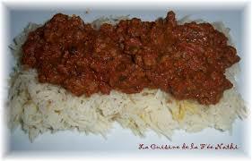 cuisine indienne riz riz sauce tomate et boeuf à l indienne la cuisine de la fée nathi