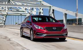 2013 ford fusion vs hyundai sonata 2015 hyundai sonata sport 2 0t test review car and driver