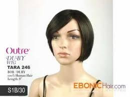 velvet remi tara 246 bob hairstyle outre 100 human hair premium duby wig tara 2 4 6 http www