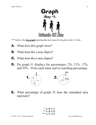 Pictograph Worksheet Teaching Graphs And Charts 3rd 4th 5th Grade Math