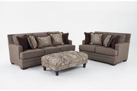 Garden Loveseat Garden City Sofa U0026 Loveseat With Cocktail Ottoman Bob U0027s Discount