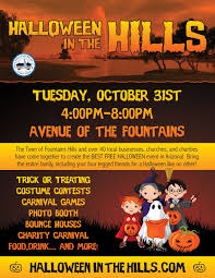 halloween in the hills fountain hills az official website