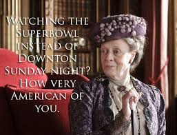 Super Bowl Sunday Meme - free super bowl party printables and a little downton abbey