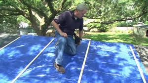 How To Attach A Pergola To A Deck by How To Attach A Tarp To A Leaking Storm Damaged Roof Today U0027s