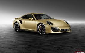 chrome porsche 911 official lime gold 2014 porsche 911 turbo by porsche exclusive