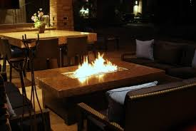 Indoor Firepit Granite Indoor Pit Coffee Table With Leather Sofa Set For