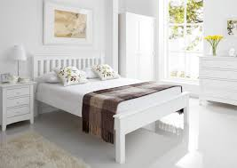 White Wood Single Bed Frame Shaker White Wooden King Size Bed Frame Lfe Painted Wood