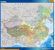 Map China Wall Map China Our Cartographers Have Made Wall Map China As