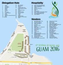 Map Of South Pacific Festival Of Pacific Arts Guam 2016