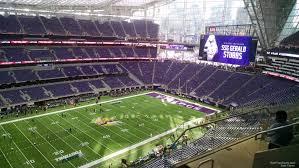 map us bank stadium u s bank stadium section 316 rateyourseats
