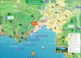 Provence Map Les Calanques Cassis Europe Pinterest