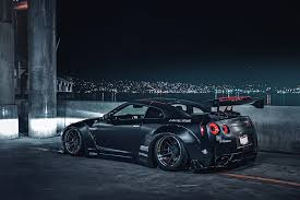 nissan gtr matte black nissan gt r r35 liberty matte black low japan sport car rear nigth