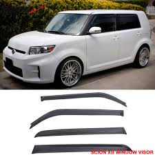 fit for 08 15 scion xb window visors rain vent sun shade wind
