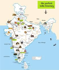 Virgin America Route Map by The Perfect India Itinerary Route Map India Backpacks And Asia