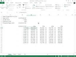one way data table excel data table excel for a one way data table where we have the list of