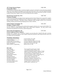 Physics Resume Clean Project Engineer Resume Template Page 3