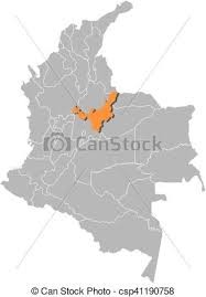colombia map vector map colombia boyaca map of colombia with the provinces