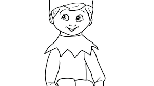printable elf girl printable elf coloring pages on the shelf girl book these free elves
