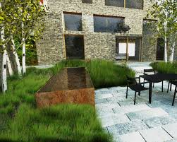 Contemporary Design Modern Family Gardens Contemporary Landscape Design Water