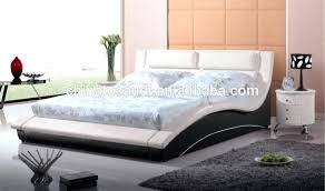 king size leather bed frame queen size bed with white leather