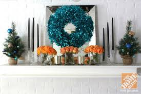 tree decorating ideas turquoise blue bronze