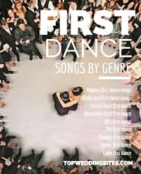 wedding songs top 5 wedding songs listed by genre the complete