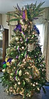 mardi gras trees this would be on the mardi gras christmas tree i want to add