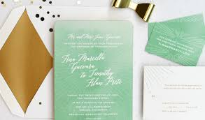 Mint Wedding Invitations Prete Invitation Custom Gallery Anticipate Invitations