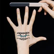 online get cheap temporary tattoo sticker leg aliexpress com