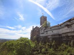 my journey westward eisenach one big castle on a hill