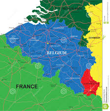 Map Of Belgium And France by Belgium Map And Cities Stock Photos Image 15975383