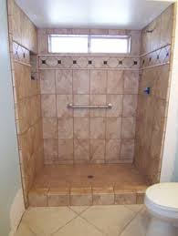 How To Convert A Bathtub To A Walk In Shower Small Tile Walkin Showers Walk In Tile Shower Replaces Tub