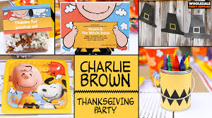 peanuts thanksgiving ideas activities by wholesale