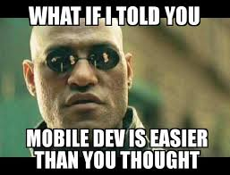 Application Meme - so you want to do mobile application development gorilla logic