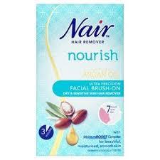nair face brush on hair removal cream 50ml superdrug