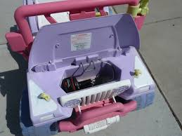 purple barbie jeep diy electric bike souping up a barbie beach ranger jeep