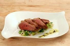 cuisine vapeur recettes recette de magret de canard à la vapeur de poivres fondue de