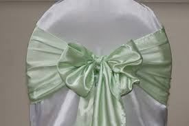 mint green chair sashes mint green 2013 wedding trend nozie weddings events