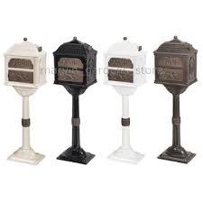 gaines classic series mailbox decorative cast mail box w antique
