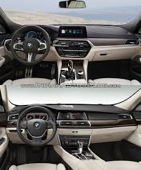 2017 bmw 6 series gt vs bmw 5 series gt interior dashboard