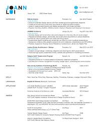 Architecture Resume Sample by Resume Template For Architecture Students Augustais