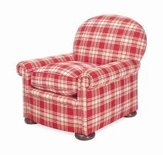 surprising red plaid chair on small home decor inspiration with