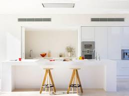 clerestory windows above cabinet lighting contemporary kitchen