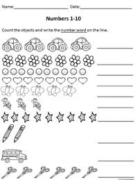 number worksheets 1 50 by the traveling educator tpt