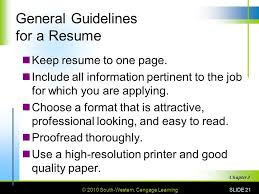 guidelines for what to include in a resume 3 getting the 3 1 getting an ppt