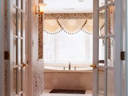 ideas for master bathroom door green bath bathroom suite french doors open