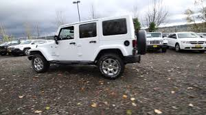 jeep rubicon white 2017 2017 jeep wrangler unlimited sahara bright white clearcoat