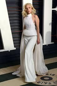 Vanity Fair Oscar Party Lady Gaga In Brandon Maxwell At The 2016 Vanity Fair Oscar Party