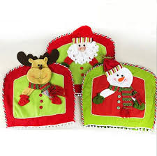 snowman chair covers new christmas snowman chair cover winter party kitchen
